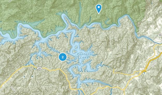 Swain County Park Map