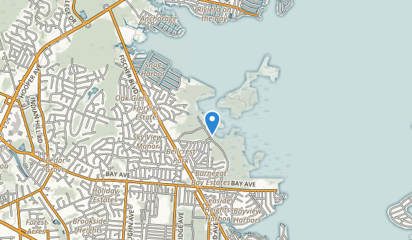 Cattus Island County Park Map