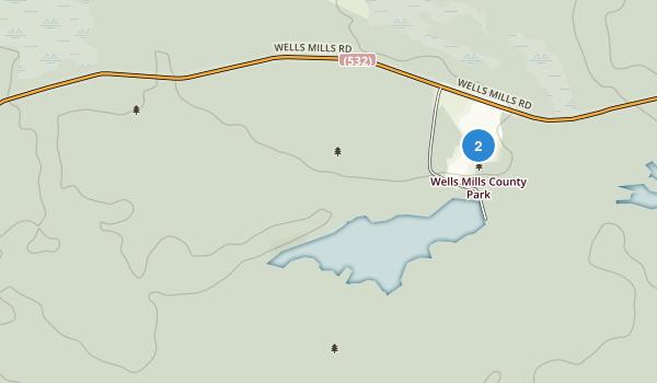 Wells Mills County Park Map