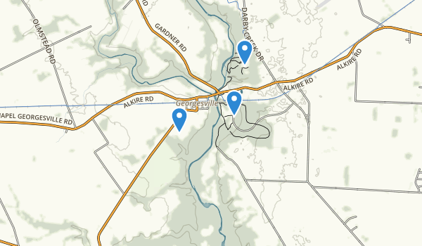 trail locations for Battelle Darby Creek Metropolitan Park