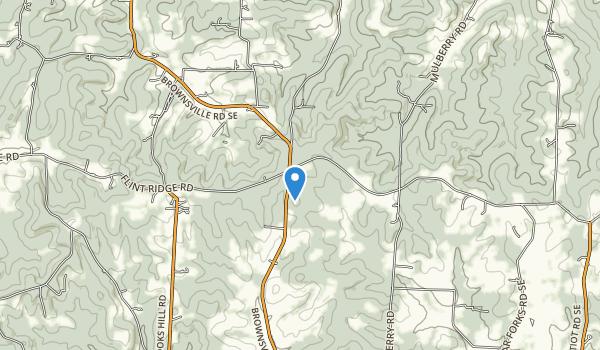 trail locations for Flint Ridge Park