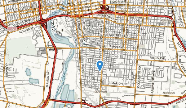 Schiller Park Map