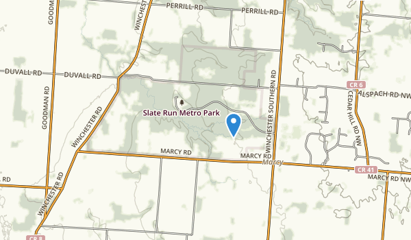 Slate Run Metropolitan Park Map