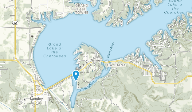 Little Blue-Disney State Park Map