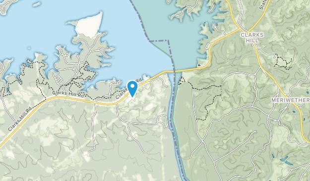 Below Dam Recreation Area Map