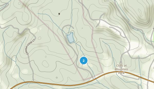 Pleasant Ridge State Park Map