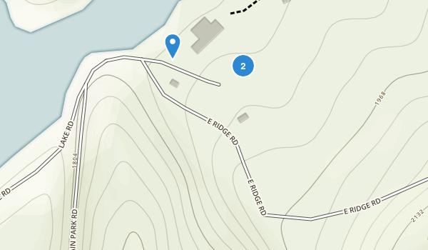 Bays Mountain Park Map