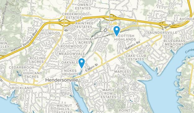 Drakes Creek Park Map