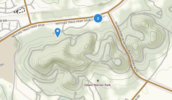 Edwin Warner Park Map