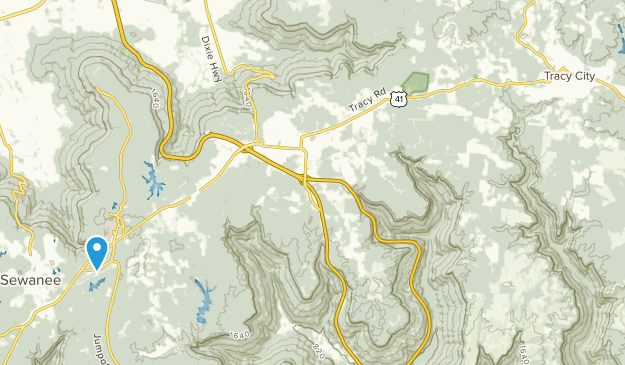 Grundy Forest State Natural Area Map
