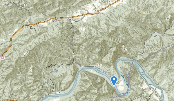 Houston Valley Recreation Area Map