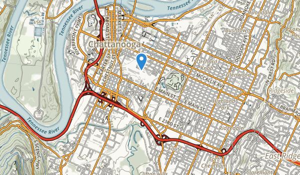 trail locations for Montague Park