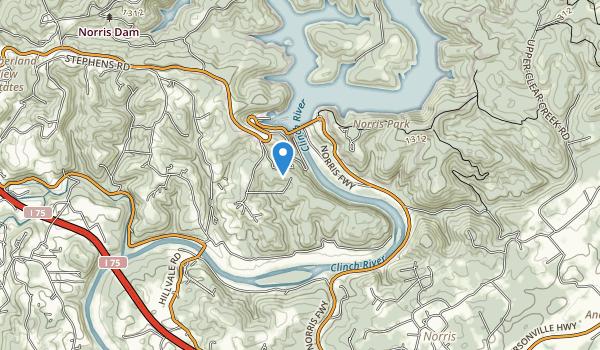River Bluff Small Wild Area Map