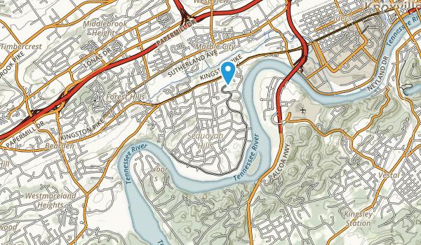Sequoyah Park Map