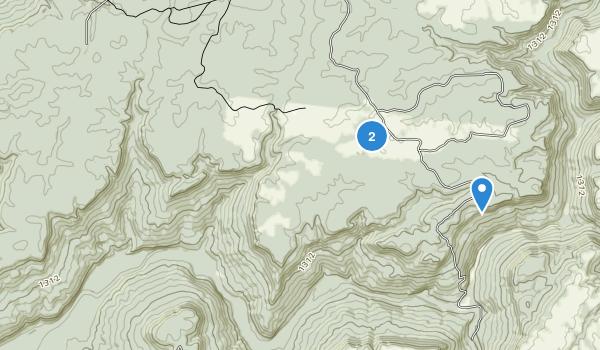 Virgin Falls State Natural Area Map