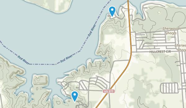 Cedar Bayou Publice Use Area Map
