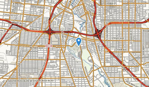trail locations for Concepcion Park