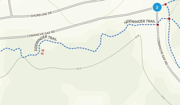 Dana Peak Park Map