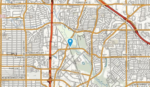 Harry Moss Park Map