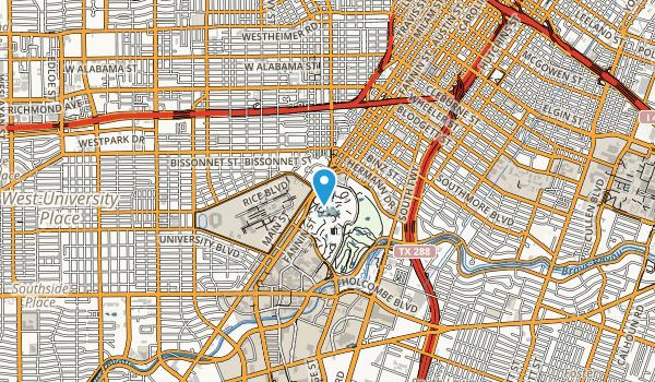 Hermann Park Map