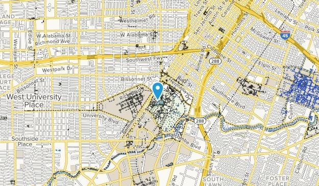 Parque hermann Map