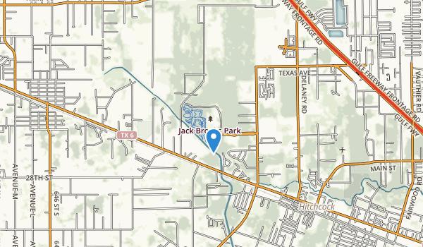 Jack Brooks Park Map