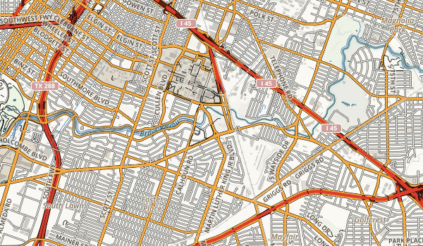 MacGregor Park Map