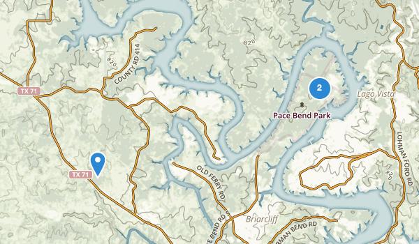 Pace Bend Park Map