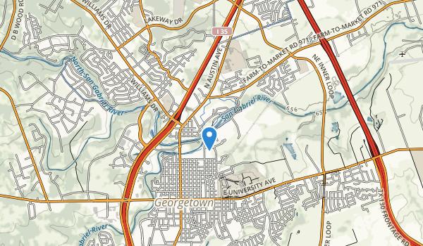 San Gabriel Park Map