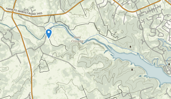 trail locations for Sawyer Park