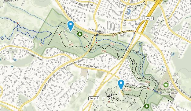 Slaughter Creek Metropolitan Park Map