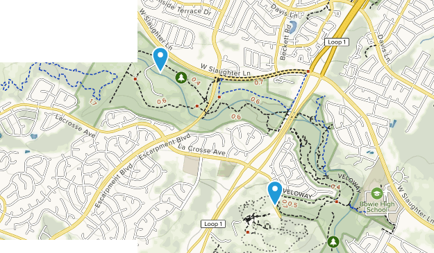 Slaughter Creek Metropolitan Park Map