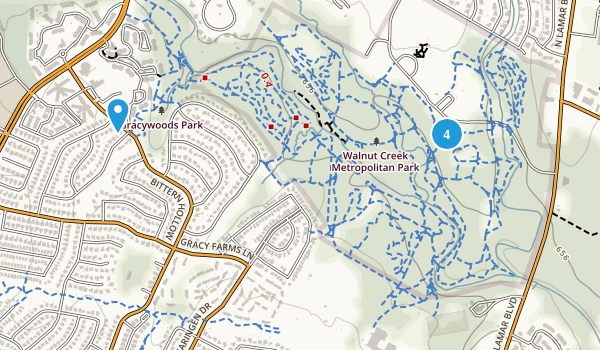 Walnut Creek Metropolitan Park Map