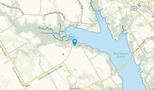 Waxahachie Creek Park Map