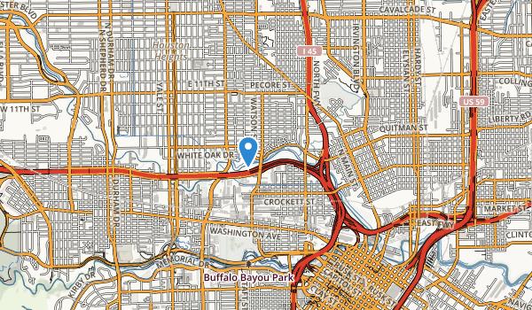 trail locations for White Oak Park