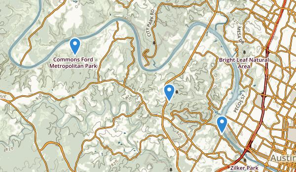 Wild Basin Wilderness Park Map