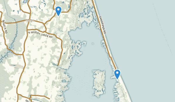 Back Bay National Wildlife Refuge Map