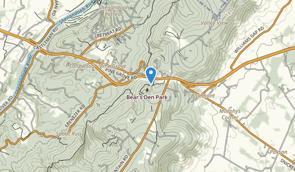 Bearden Park Map