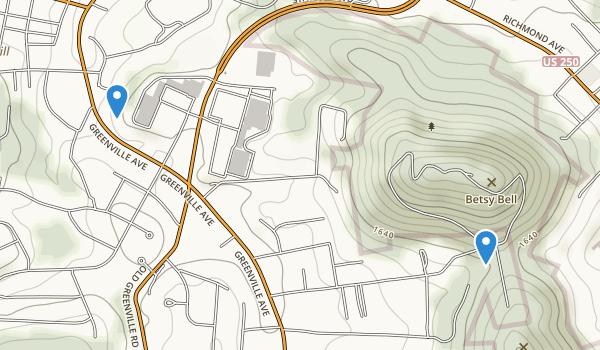 Betsy Bell Park Map