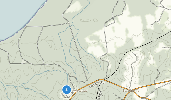 trail locations for Caledon State Park
