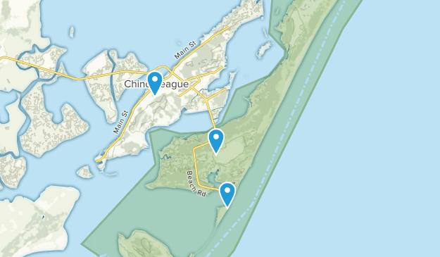 Chincoteague National Wildlife Refuge Map