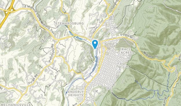 Glen Maury Park Map