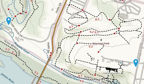 Maymont Park Map