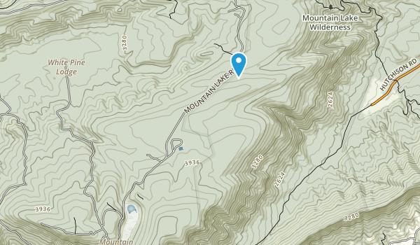 Mountain Lake Biological Station Map