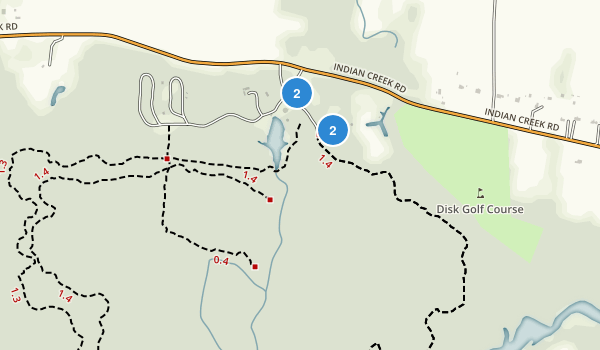 Northwest River Park Map