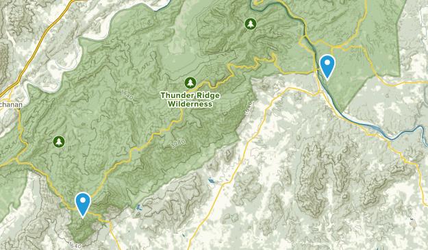 Área de recreación Otter Creek Map