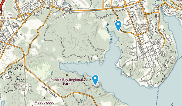 Pohick Bay Regional Park Map