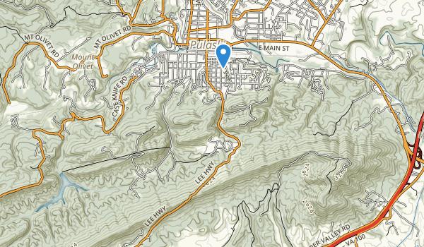 trail locations for Pulaski Wayside Picnic Area