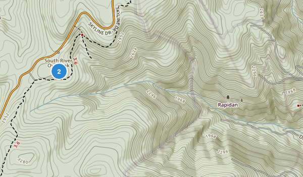 Rapidan Wildlife Management Area Map