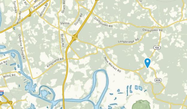 Richmond National Battlefield Park Map